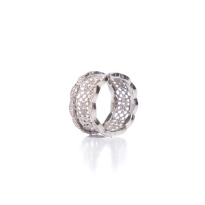 Grando Grando 18k White Gold & Diamond Ring