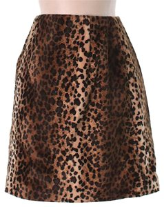Hugo Buscati Mini Skirt Leopard print