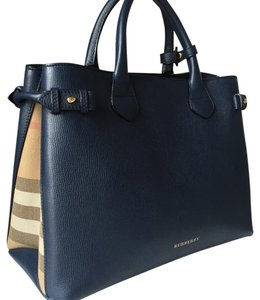 Burberry Tote in Ink Blue