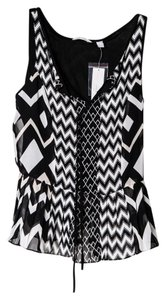 New York & Company Top * Black & White
