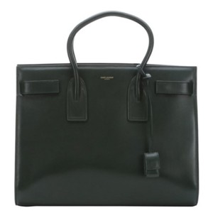 Saint Laurent Tote in Dark Green