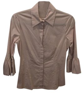 BCBGMAXAZRIA Button Down Shirt Mauve