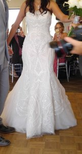 Ines Di Santo Zabize Wedding Dress