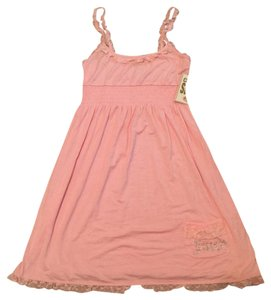 Juicy Couture short dress Rose Nightgown Lace Rhinestones on Tradesy