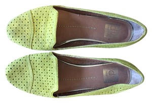 Dolce Vita Suede Green Leather Lime Green Flats