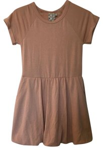 Anthropologie short dress Blush Pink on Tradesy