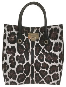 Jimmy Choo Tote in Brown/Beige