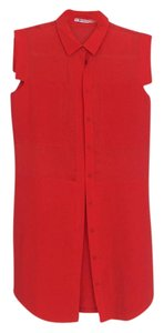 T by Alexander Wang short dress Red on Tradesy