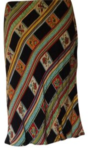 Harold Powell Skirt Black/Multi