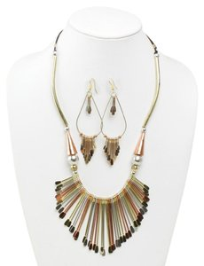 Boutique 9 Royal Brass & Copper Jewelry Set