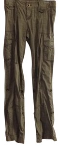 Express Straight Pants Olive