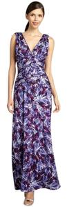 Laundry by Shelli Segal Evening Gown Lavender Maxi Dress