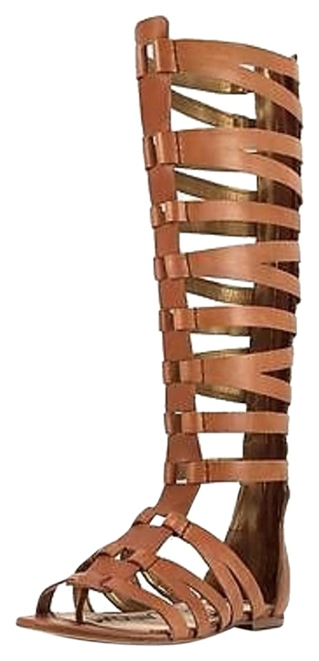 0d5137e1d76e Sam Edelman Beige Fast Free Shipping Bryant Womens Leather Gladiator ...