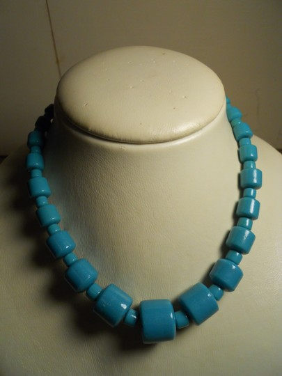 unknown Vintage ceramic bead choker necklace Image 2