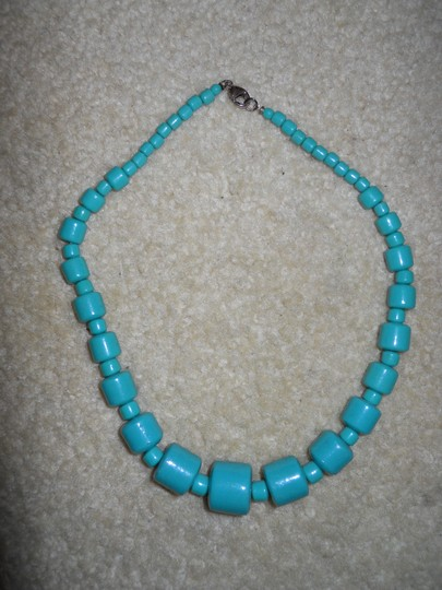 unknown Vintage ceramic bead choker necklace