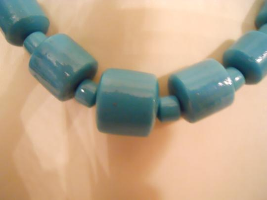 unknown Vintage ceramic bead choker necklace Image 8