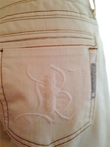 Bishop of Seventh Pants Winter White Celebrity Custom Limited Edition Flare Leg Jeans-Light Wash