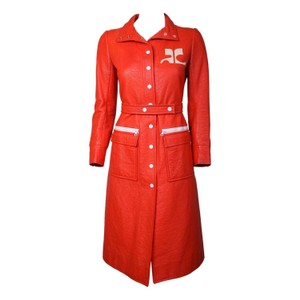 Courreges Space Age Retro 60s Coat