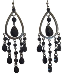 Unknown Black Drop Earrings