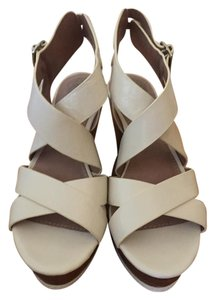 Vince Camuto White Wedges
