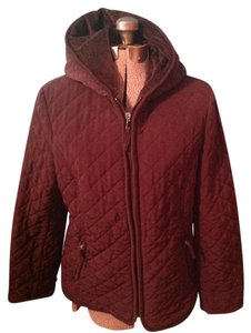 Esprit Hood Pockets Polyester Coat