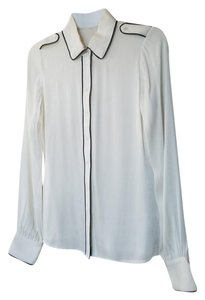 Rachel Zoe Rahcel Button Down Top White
