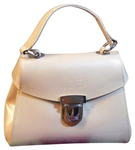 Beijo Satchel in White