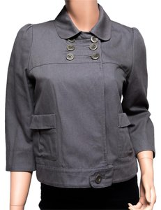 See by Chloé 3/4 Sleeve Gray Jacket