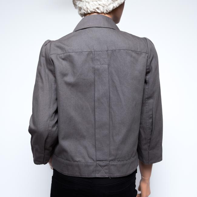 See by Chloé 3/4 Sleeve Gray Jacket Image 1