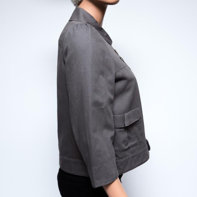See by Chloé 3/4 Sleeve Gray Jacket Image 2