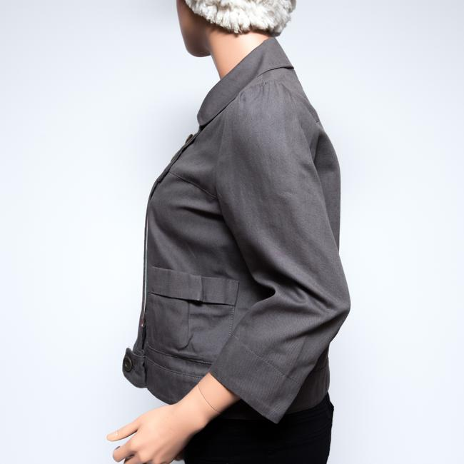 See by Chloé 3/4 Sleeve Gray Jacket Image 3