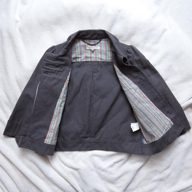 See by Chloé 3/4 Sleeve Gray Jacket Image 6