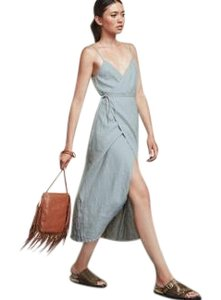 Blue Maxi Dress by Reformation Linen
