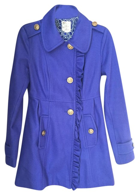 Item - Royal Blue Coat Size 4 (S)