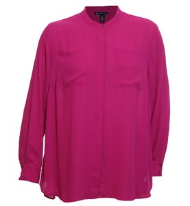 INC International Concepts Button Down Shirt Pink