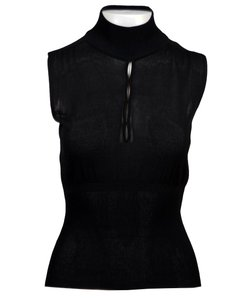 Max Mara Top Black