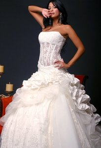 Pnina Tornai Two Piece Corset Wedding Dress Wedding Dress