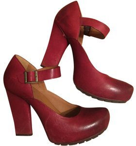 Kork-Ease Deep red Platforms