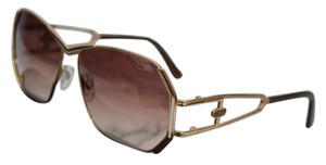 Cazal NEW Cazal Mod 225 Brown Gold Wired Vintage Sunglasses