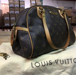 Louis Vuitton Satchel in Monogram Brown