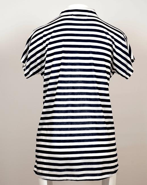 Madewell Top Withe/Blue Image 1