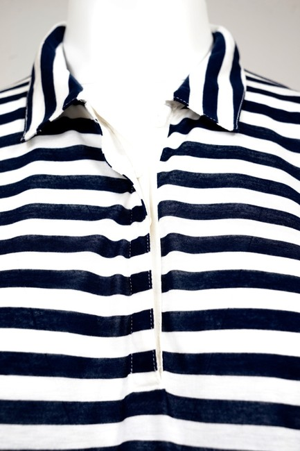 Madewell Top Withe/Blue Image 2