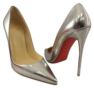 Christian Louboutin Silver metallic Pumps