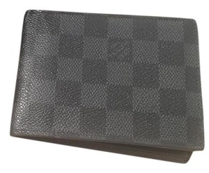 Louis Vuitton Louis Vuitton Multiple Wallet in Graphite Damier Canvas
