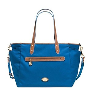 Coach Blue Diaper Bag