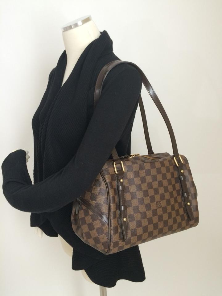 d07c22a28a36 Louis Vuitton Rivington Handbag Satchel Canvas Shoulder Bag Image 7.  12345678