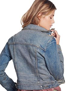 Free People light blue Womens Jean Jacket
