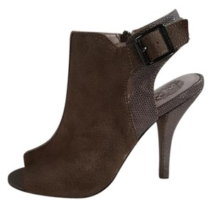 Vince Camuto Suede Leather Slingback Taupe Boots