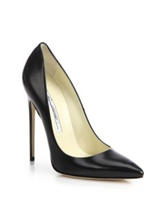 Brian Atwood Stilleto Classic Black Pumps
