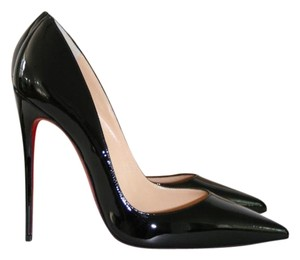 Christian Louboutin So Kate 120mm Pigalle Follies Black Pumps